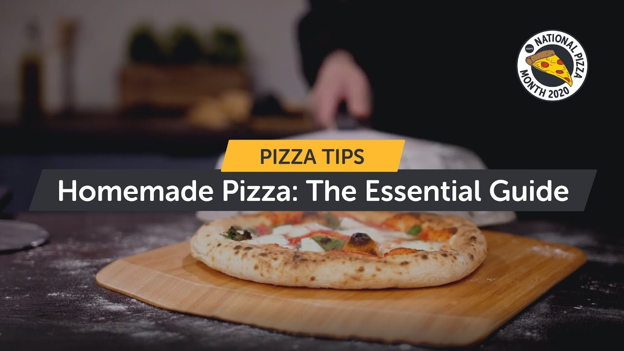 Homemade Pizza: The Essential Guide | All You Need To Know