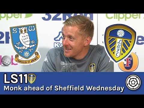LS11 | Garry Monk ahead of Sheffield Wednesday