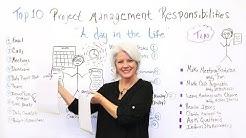 Top 10 Project Management Responsibilities - Project Management Training