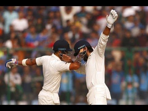 Murali Vijay And Virat kohli Hit 150-150 Score, India in good Position