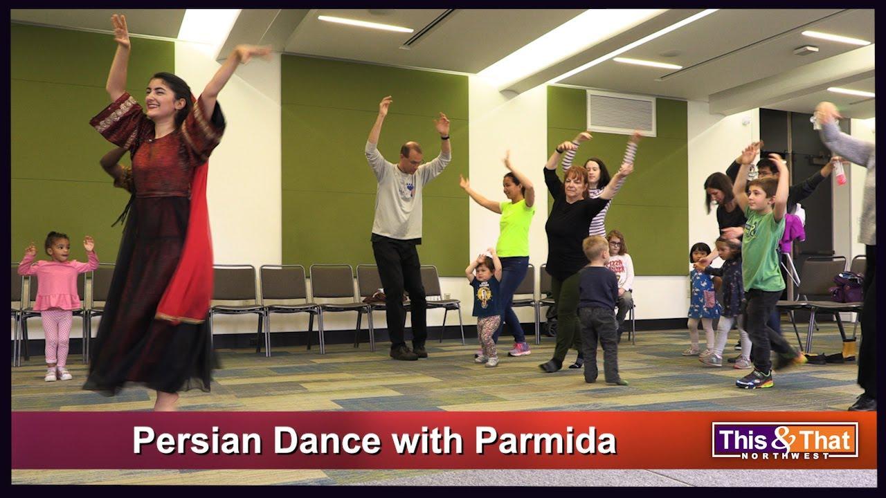 Persian Dancer Parmida Ziaei
