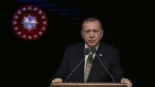 """Cumhurbaşkanı Erdoğan, """"Global Girişimcilik Kongresi""""nde konuşuyor"""