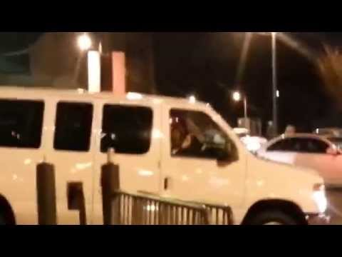 WWE Superstars leaving the FedEx Forum