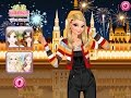 Disney Frozen Games - Elsa Fire Work Show Dress Up games for kids