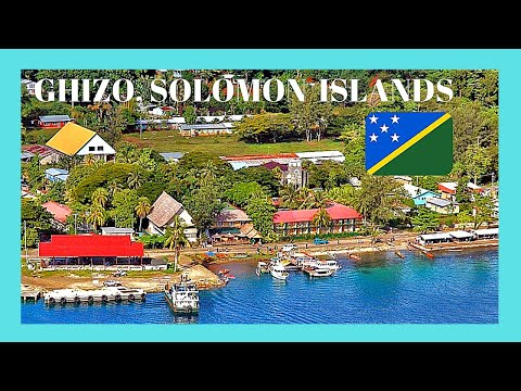 SOLOMON ISLANDS, a TOUR of the beautiful island of GHIZO (Pacific Ocean)