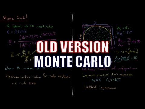Computational Chemistry 3.10 - Monte Carlo (Old Version)
