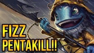 League Of Legends - Fizz Pentakill