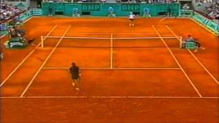 Monica Seles vs Jana Novotna 1998 French Open quarterfinals