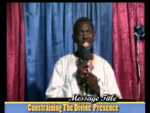 03,CONSTRAINING DIVINE PRESENCE BY GBILE AKANNI