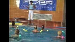 упражнения аквааэробика видео