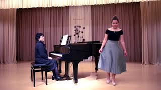 """Dita Heidija Hehte (V.Salaks """"Kalnā kāpu es dziedāt""""; Dž. Džordāni """"Caro mio ben"""" )"""