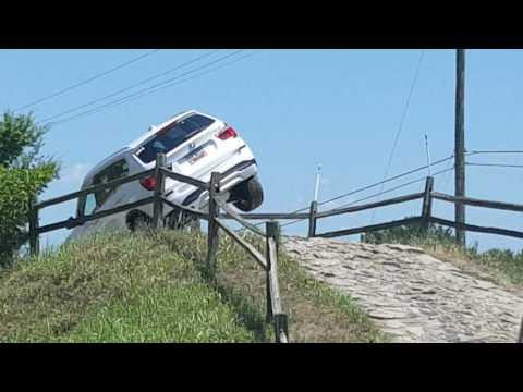 BMW X3 off-road testing