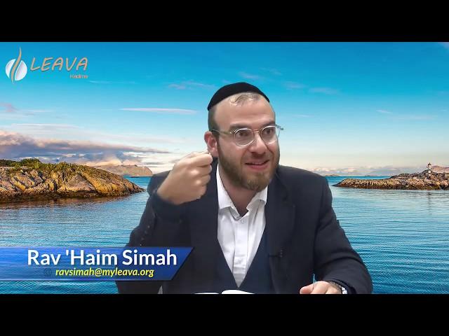 🌎 Pour toi le monde avec le Rav Haïm Simah «Métamorphose tes pensées»