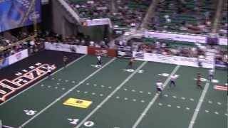 Alvance Robinson - WR/KR  #15 - Utah Blaze 2012 Arena Football League Highlights