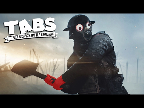 TABS EPIC BATTLES Totally Accurate Battle Simulator Meets Battlefield 1 (TABS Gameplay)