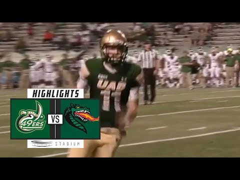 Charlotte vs. UAB Football Highlights (2018) | Stadium