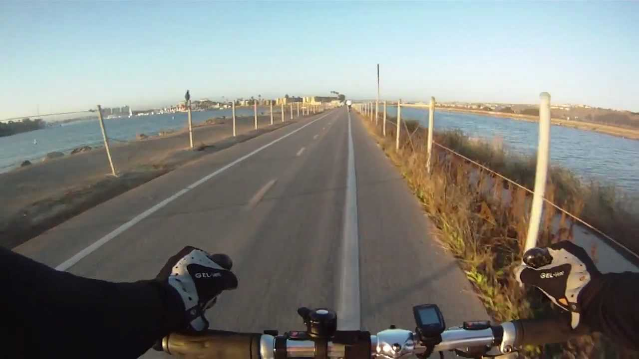 Bicycle Ride On Marvin Braude Bike Trail From Manhattan Beach To Marina Del Rey You