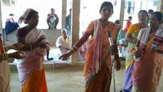 Bishnupriya Manipuri Celebrating Devi Durga Puja Patharkandi, Kantabari, Assam