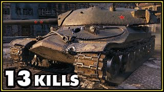 IS-7 - 13 Kills - World of Tanks Gameplay