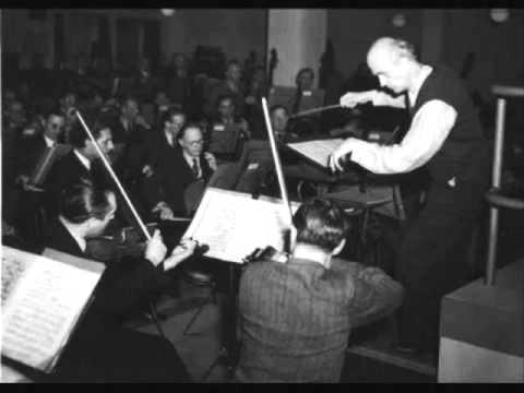 """Wilhelm Furtwängler """"Concerto grosso Op 6 No 10"""" Händel"""