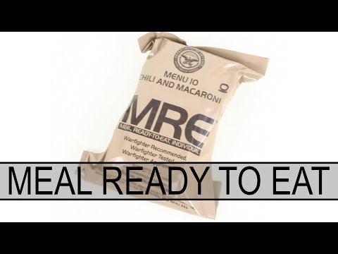 Thumbnail: Probando una ración MRE (Meal Ready to Eat) | Capsule Airsoft España