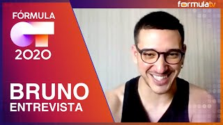 Entrevista a Bruno Alves tras salir de OT 2020: su expulsión, Fugitivos y Maialen