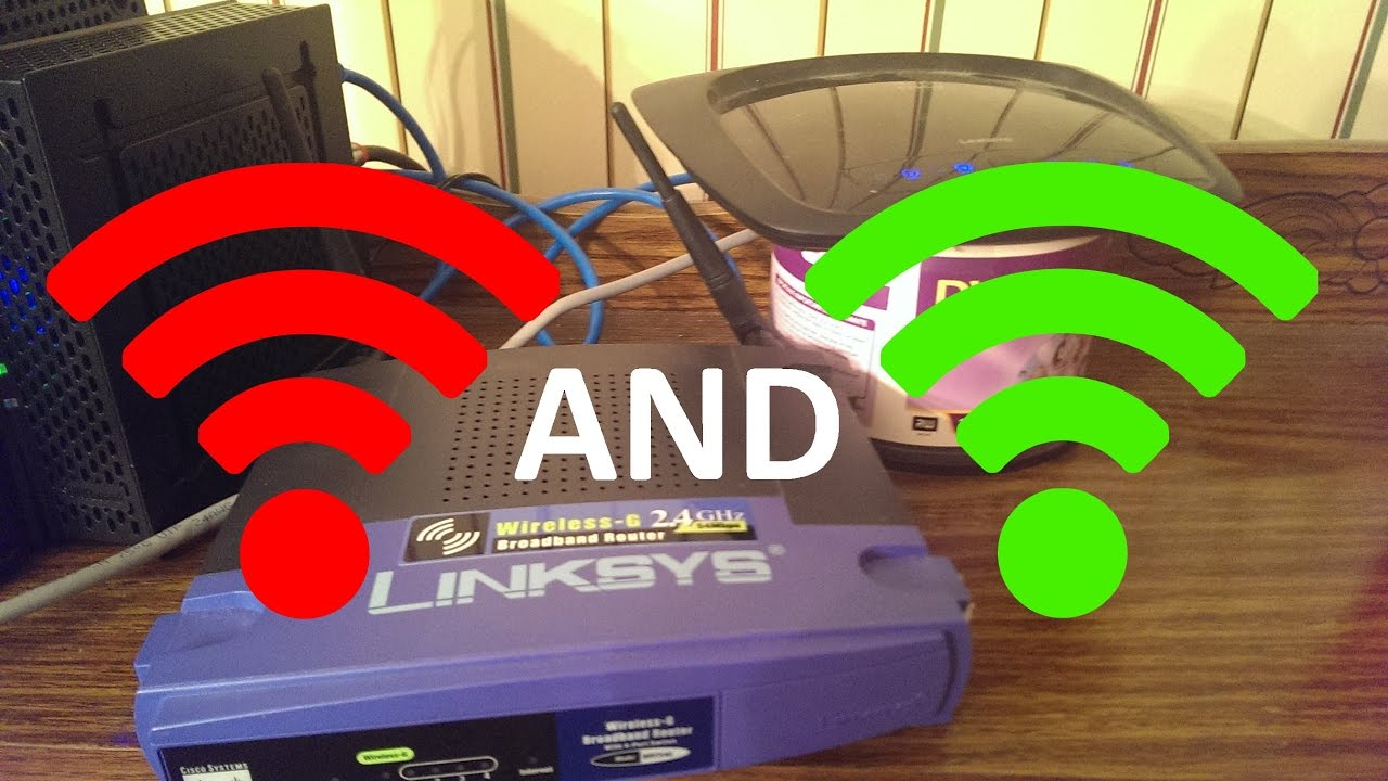 how to use another router as a range booster for your wifi network updated version  [ 1280 x 720 Pixel ]