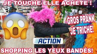 SHOPPING LES YEUX BANDÉS J'ACHETE TOUT CE QUE JE TOUCHE À ACTION ET CENTRAKOR  !