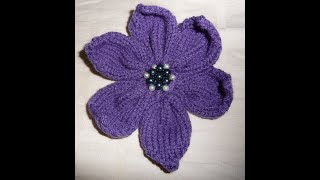 ♥♥♥Вязанные цветочки♥♥♥МК цветок крючком♥♥♥Цветочек крючком +для начинающих♥♥♥