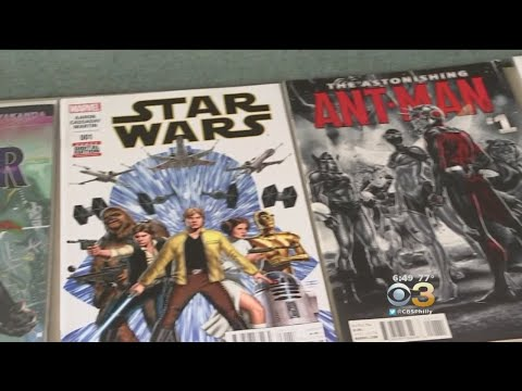 Local Man Has Largest Comic Book Online Store Based In Norristown