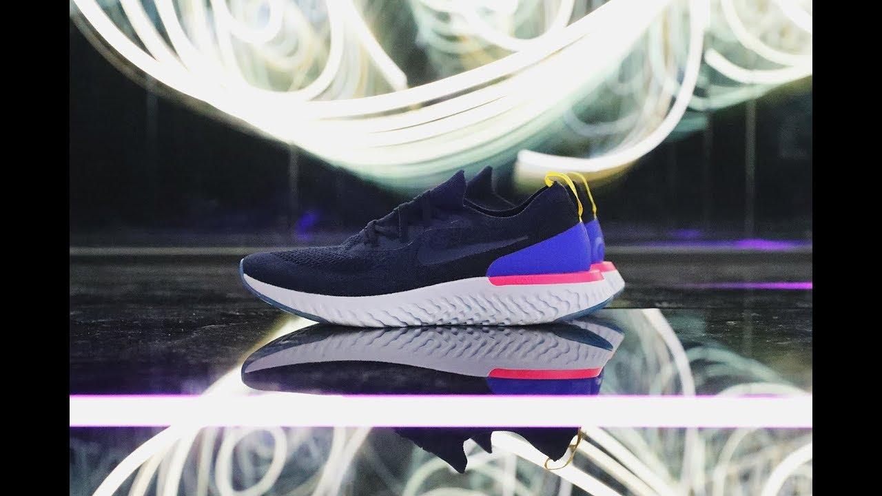 Kicksvision   Nike React Epic Flyknit Unbox Video