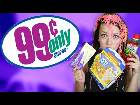 99¢ STORE PRODUCT TESTING!   Alexis G Zall