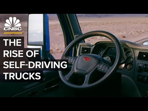 How Amazon Demand Drives Autonomous Truck Tech