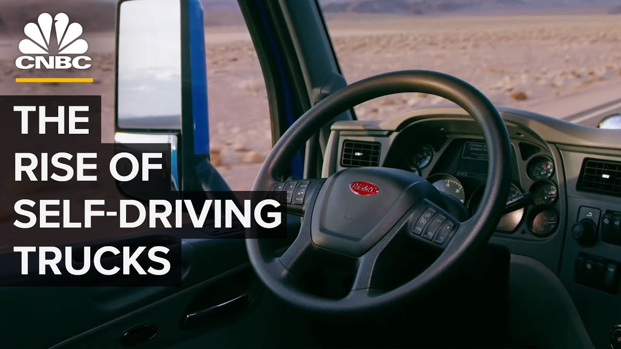 How Amazon Demand Drives Autonomous Truck Tech [VIDEO]