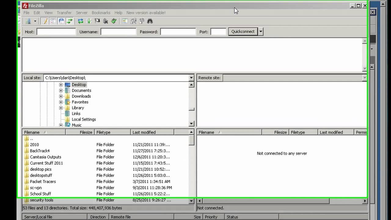 FTPS and Filezilla with IIS 7 5 and Windows Web Server | Danscourses