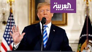الكلمة الكاملة للرئيس ترمب تعقيبا على الهجمات الإيرانية على القواعد الأميركية في العراق