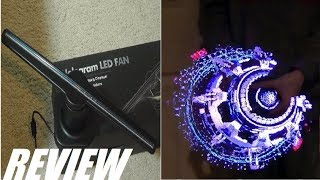 REVIEW: 3D Hologram LED Fan Display - Future Is Here!