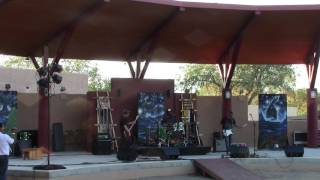 Jir Project Band - LIVE @ NM State Fair Indian VIllage 2016 Clip 3