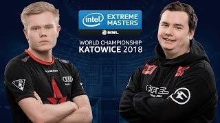 CS:GO - Astralis vs. FaZe [Cache] Map 1 - Semifinal - IEM Katowice 2018