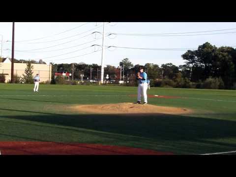 Adam Heidenfelder pitching 10-13-2012