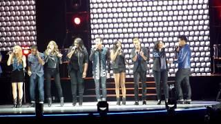 American Idol Tour 2013 - Finale - Sacramento, CA