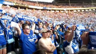 "DFB Pokal Finale 2011 Schalke - Duisburg ""Königsblauer S04"""