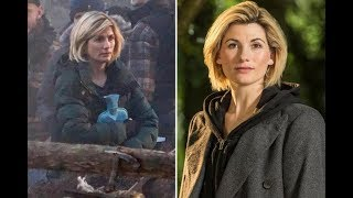 Jodie Whittaker trades her sonic screwdriver for a hot water bottle while filming the first