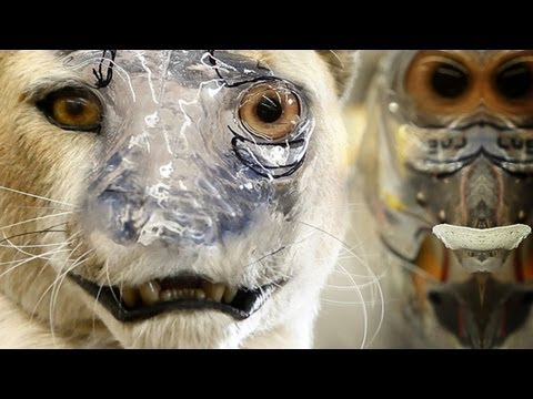 Animatronic Character Creation - Organic Mechanics Parts 1 &