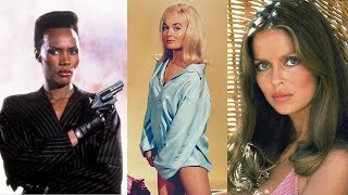 41 Bond Girls Then And Now (2018)