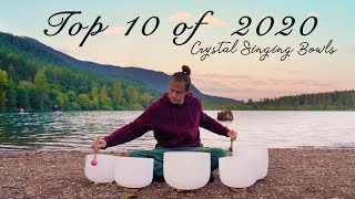 Best of 2020 - Crystal Singing Bowls by Healing Vibrations | 9 Hrs of Meditation Music | Sound Bath