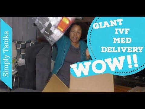 Giant IVF Med Delivery Just Happened!