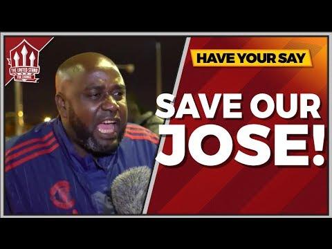 BACK Jose MOURINHO! Manchester United 0-3 Tottenham FAN CAM