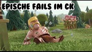 EPISCHE FAILS IM CK | Clash of Clans | [German Deutsch HD+]
