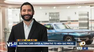 Electric cars offer alternative to $4 per gallon gas